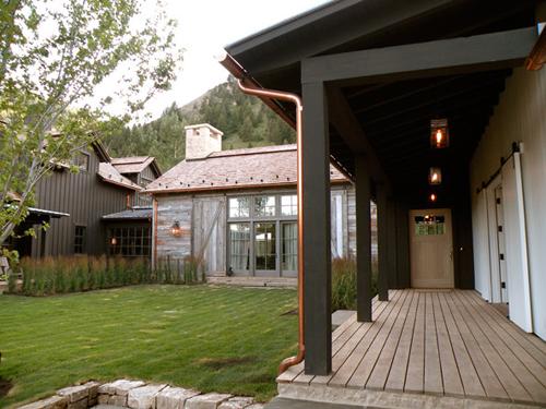 Maison chic en bois