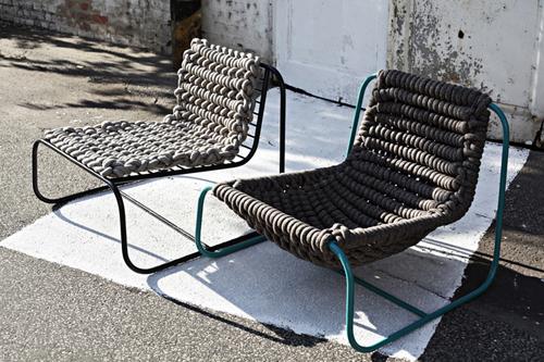 fauteuil d 39 ext rieur contemporain chic et chaleureux. Black Bedroom Furniture Sets. Home Design Ideas