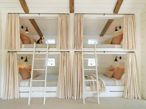 chambre d'enfant lit superposés