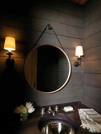 beau miroir de salle de bain