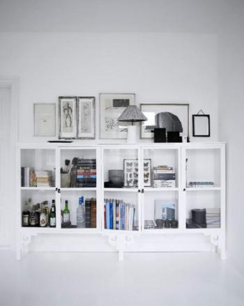 Beau meuble de rangement blanc - FactoryChic