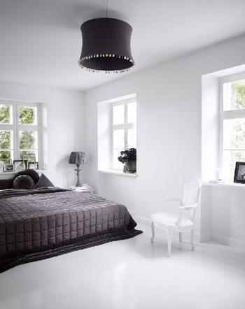 Chambre Noir et blanc - FactoryChic