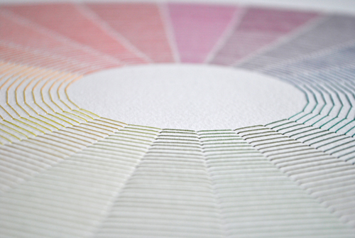 color circle detail
