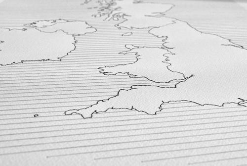 UK map detail