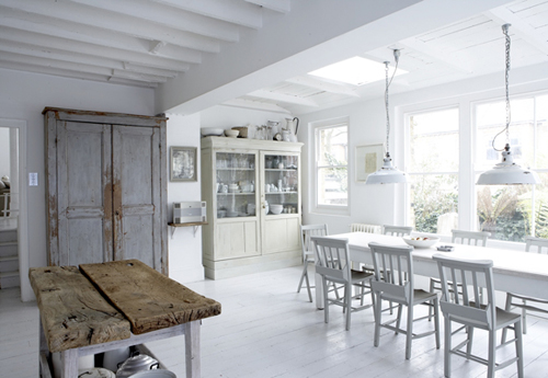 Belle cuisine blanche