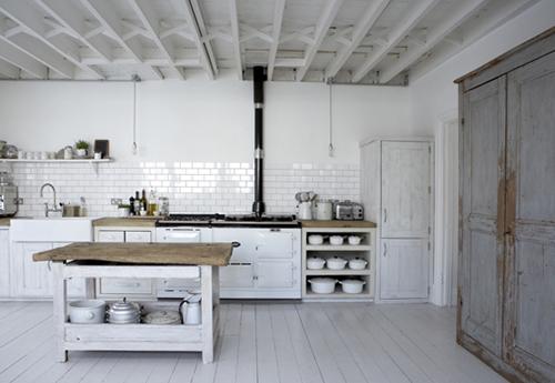 jolie cuisine blanche