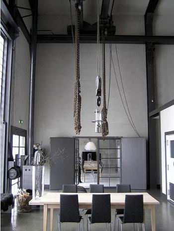Intérieur style industriel
