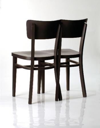 Chaise bistrot double originale