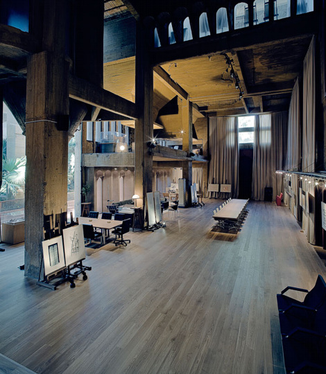 usine rénovée - salle principale 2