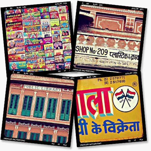Les Trips de FactoryChic - Inde 2011