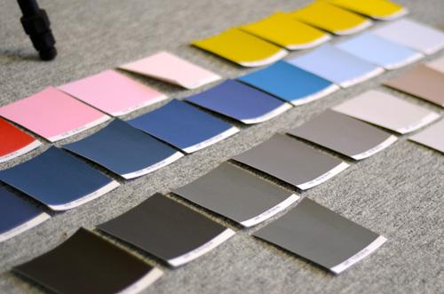 Choix des couleurs pour la toile Trendy personnalisable