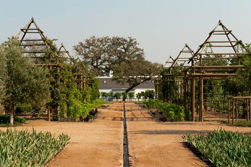 Un jardin très bien entretenu!