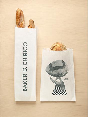 belle typo sur sachet de pain