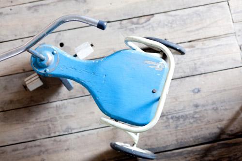 Tricycle enfants vintage
