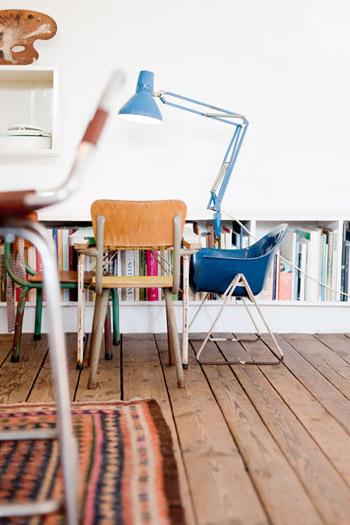 Jolies chaises enfants vintage