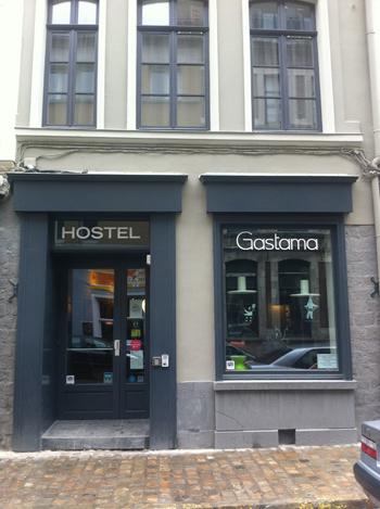 La belle façade grise du Gastama à Lille