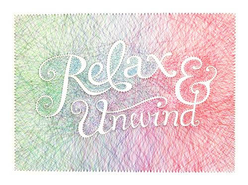 Tableau Graphique Relax & Unwind