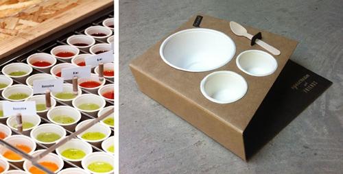 packaging étudié pour le concept store eyescream