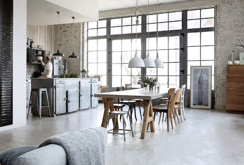 style industriel scandinave loft lille 5 blogd co factorychic. Black Bedroom Furniture Sets. Home Design Ideas