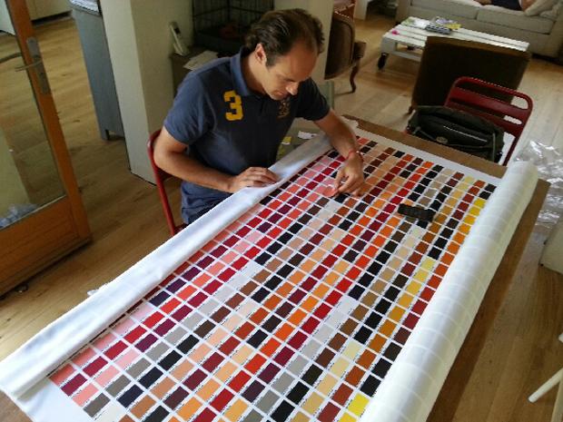 Choix des couleurs du coussin déco Trendy