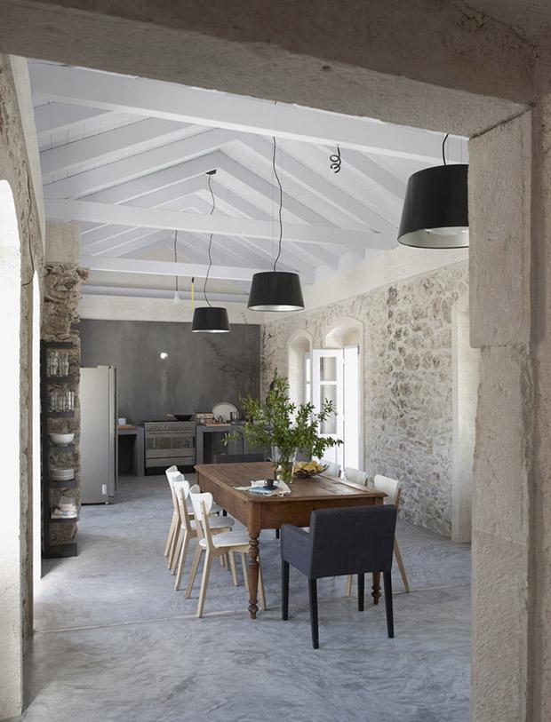 Villa Kalos Grèce - Maison d\'hôtes splendide - Blog déco factorychic.