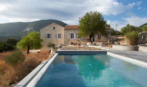 Piscine villa Kalos