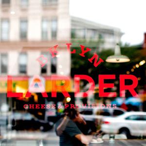 Logo graphique Brooklyn Larder-New York
